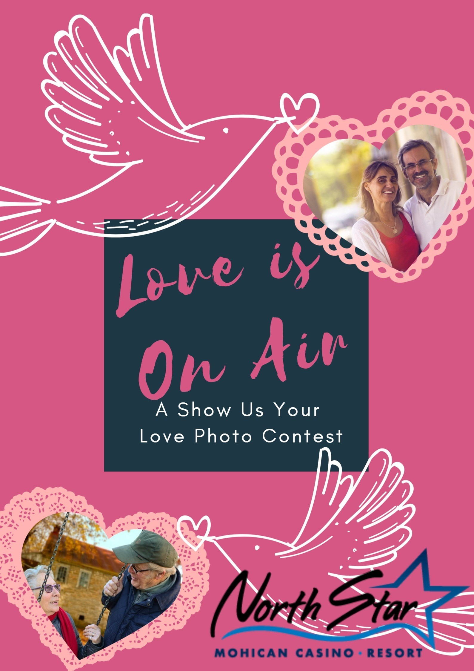 Love the one yoursquore with love is on air a show us your submit a photo of you and your sweet heart for a chance to win the grand prize which includes a pair of tickets to peter cetera at north star casino on kristyandbryce Image collections